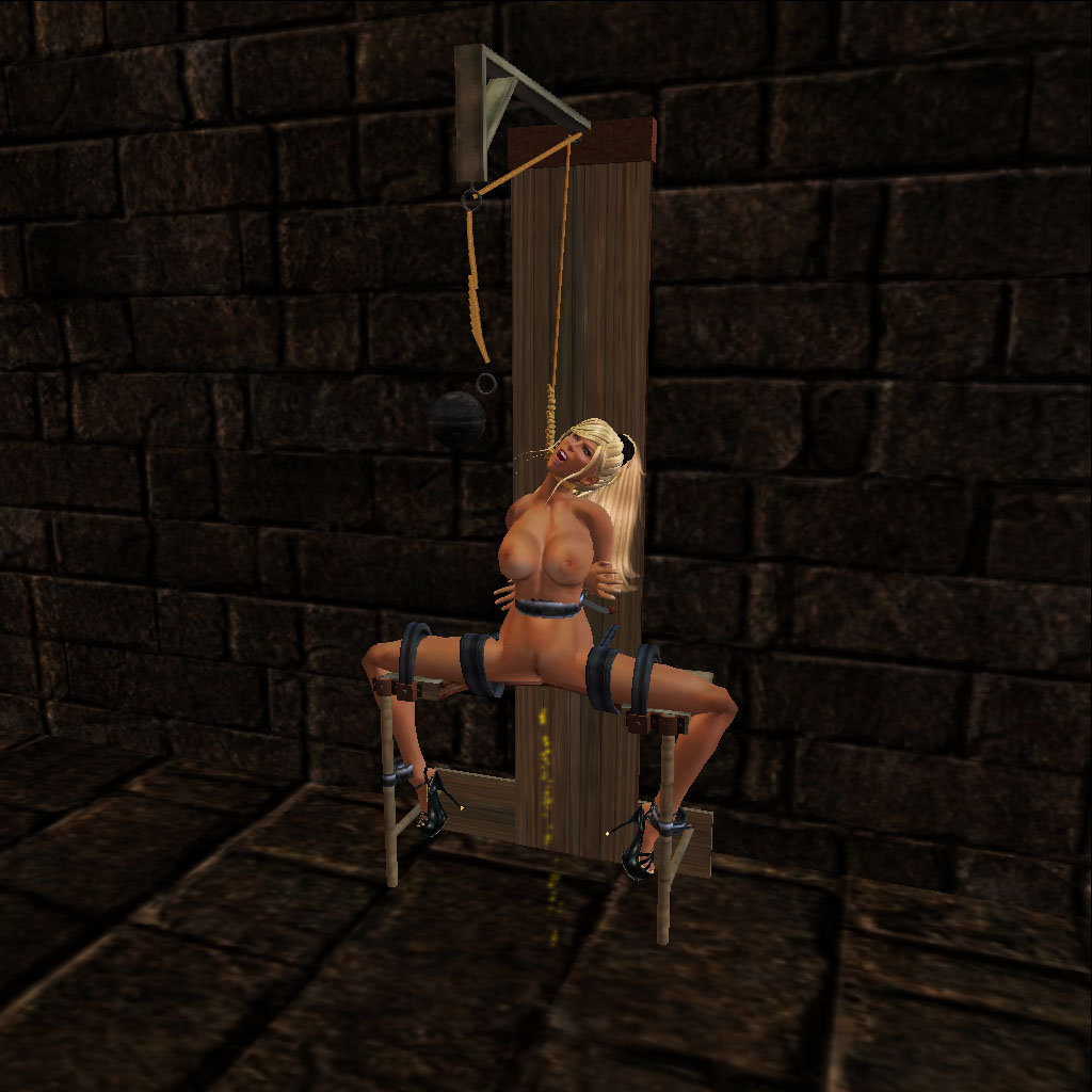 Sh Nude Woman Tied Up In Hanging